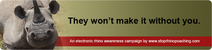 LittleMMI Stop Rhino Poaching