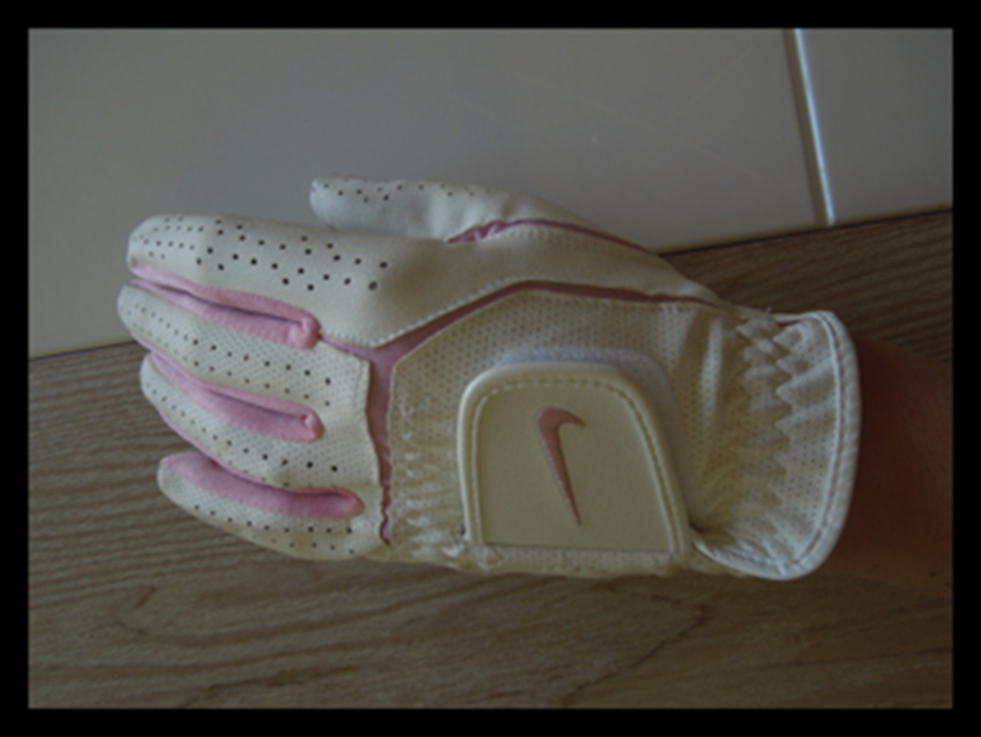 LittleMMI Pamela Buckle Randpark Golf Course Whitcher Pro Shop Nike Pink and White Glove