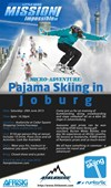 Micro Adventure Pajama Skiing Invite