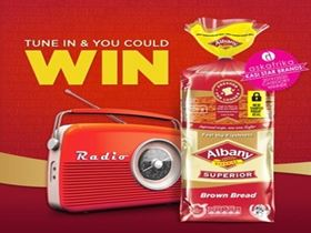 Tune in and you could WIN R5000 with Albany