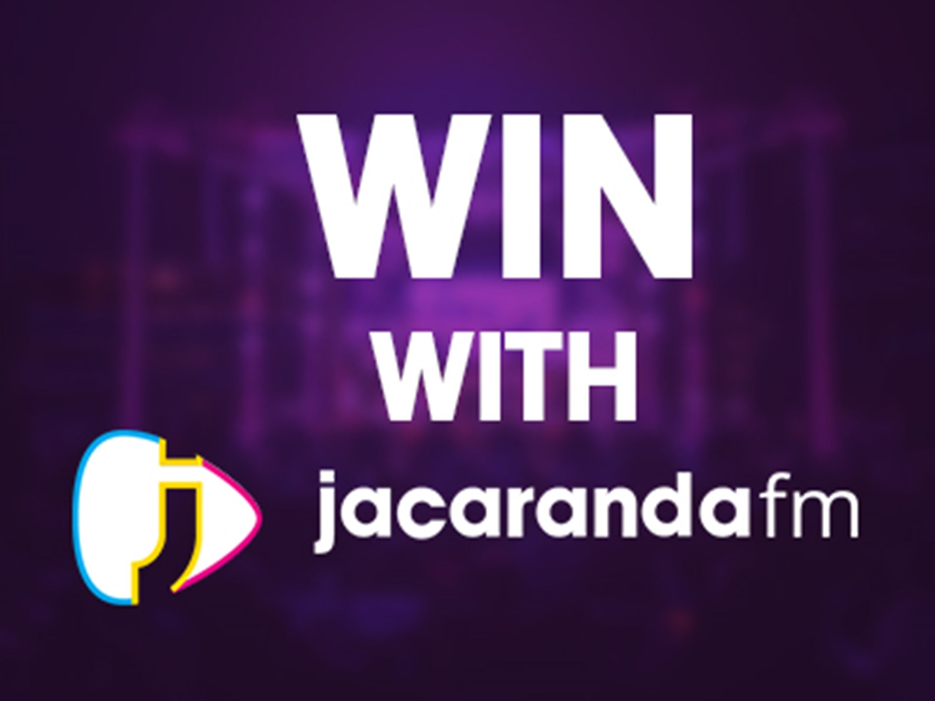 Tune in & score with Jacaranda FM!